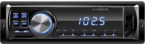VoXob MP3 lejátszó autórádió, SD / USB olvasó autós fejegység - kék