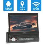 MNC Premiere érintőképernyős autórádió, Android fejegység beépített Bluetooth és WiFi