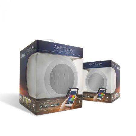 MNC Chill Cube hordozható bluetooth aktív hangfal