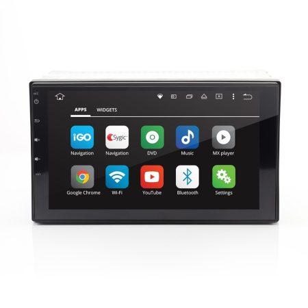 Carguard CD777 2 DIN érintőképernyős autórádió, multimédiás fejegység - Android, GPS, BT, WiFi