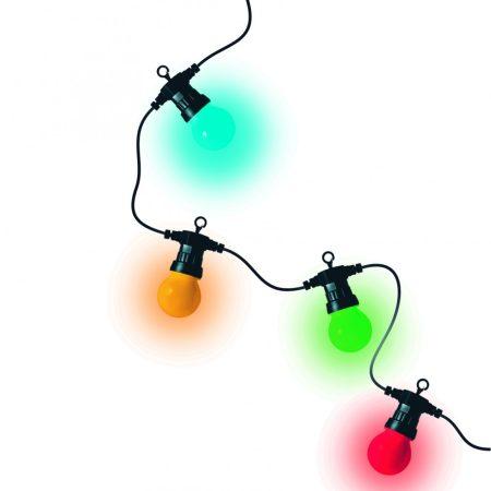 Home 19,5m RGB színes vízálló party fényfüzér