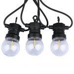 V-TAC filament LED égővel szerelt 8m party fényfüzér - 2728
