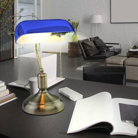 V-TAC kék asztali banklámpa - 3913