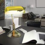 V-TAC sárga asztali banklámpa - 3914
