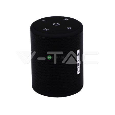 V-TAC bluetooth hangszóró beépített mikrofonnal, TWS funkcióval - fekete - 7721