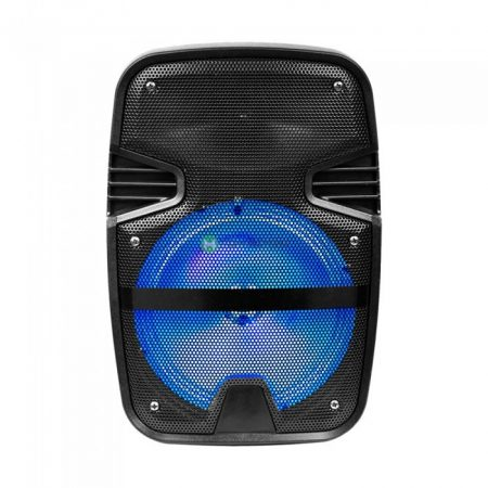 V-TAC Soundor hordozható aktív RGB hangfal 15W - bluetooth, MP3, FM rádió - 7735