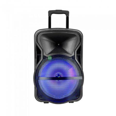 V-TAC Soundor 15 hordozható aktív hangfal 50W - bluetooth, MP3, FM rádió - 7738