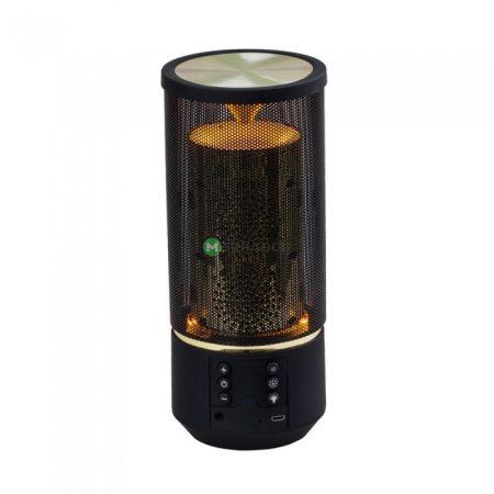 V-TAC Flame bluetooth hangszóró beépített mikrofonnal, TWS funkcióval - fekete - 7724